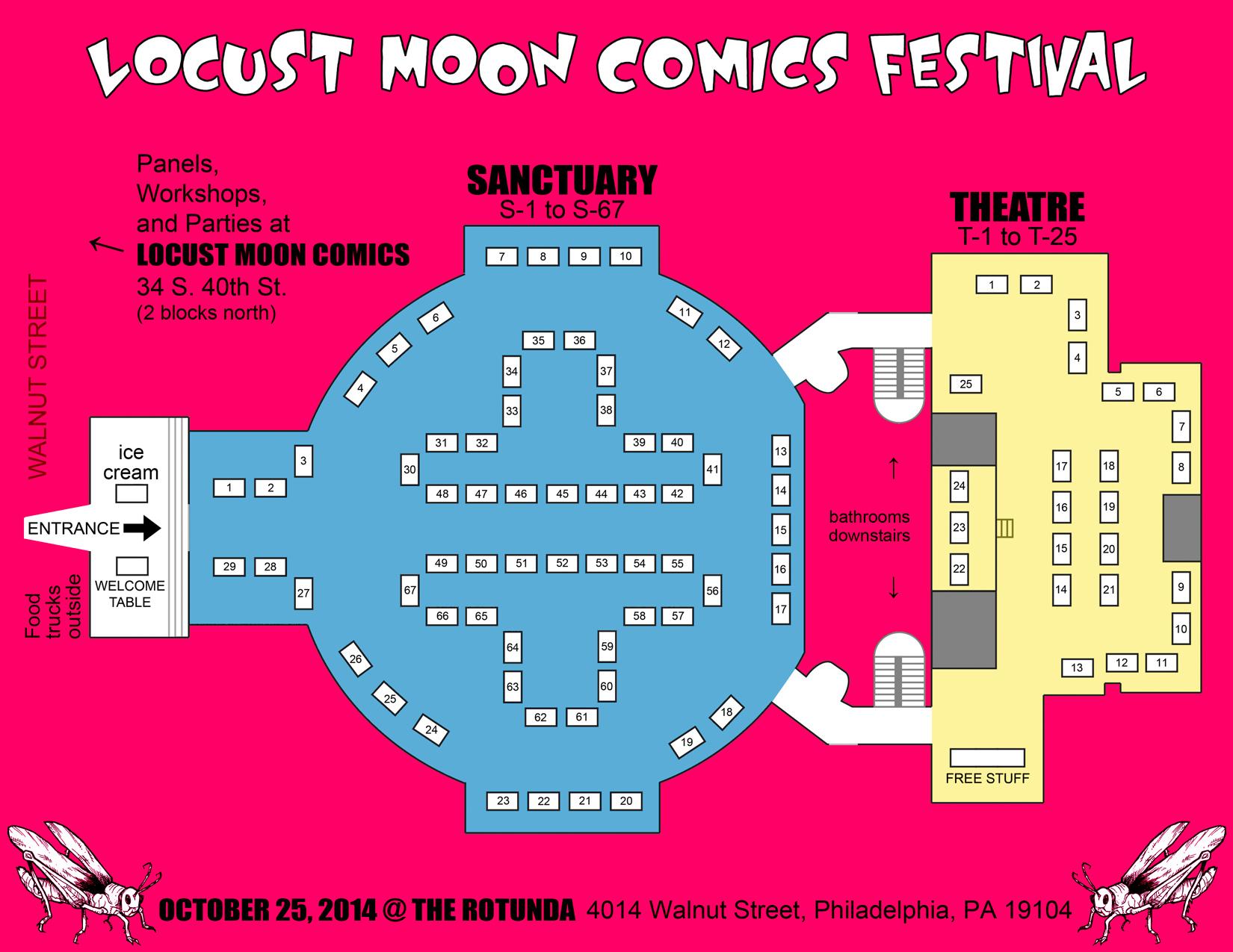 Updates   Locust Moon Comics Festival   An annual celebration of ...